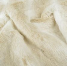 Luxury Artic Fox Fur Fabric Fat Quarter